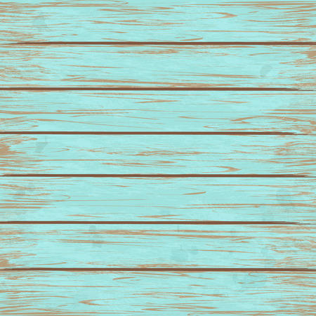 plywood: Wooden vintage green texture background. Vector illustration. Illustration