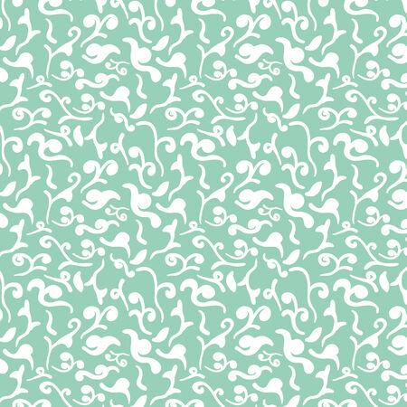 Elegant seamless floral pattern. Vector illustration background Vector