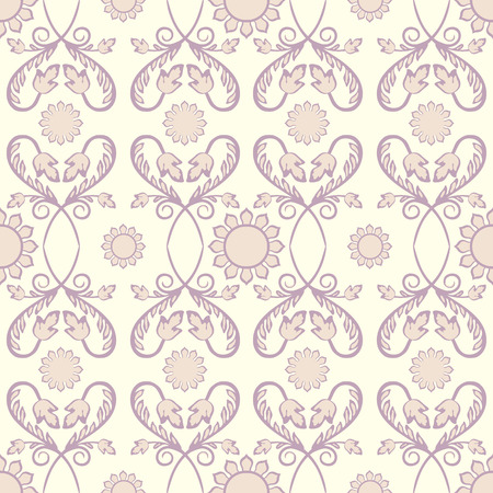 vector fabric: Background vintage flower. Seamless floral pattern. Abstract wallpaper. Texture royal vector. Fabric illustration. Illustration
