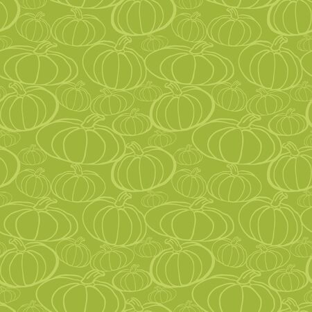Thanksgiving autumn seamless background.  Vector