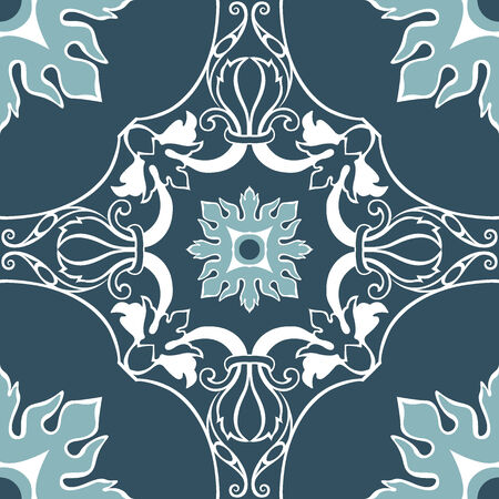 Background vintage flower. Seamless floral pattern. Abstract wallpaper. Texture royal vector. Fabric illustration. 矢量图像