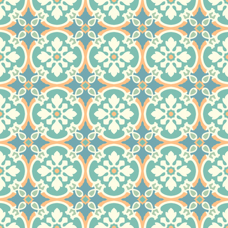 Background vintage flower. Seamless floral pattern. Abstract wallpaper. Texture royal vector. Fabric illustration. Ilustração