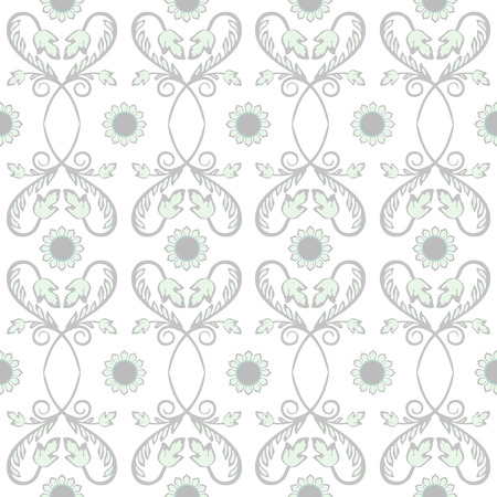vector fabric: Background vintage flower. Seamless floral pattern. Abstract wallpaper. Texture royal vector. Fabric illustration. Stock Photo
