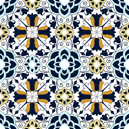 Achtergrond vintage bloem. Naadloos bloemenpatroon. Abstract behang. Textuur koninklijke vector. Fabric illustratie.