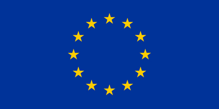 europeans: Flag of European Union. Vector Illustration