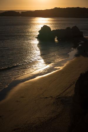 A view of a Praia da Rocha in Portimao, Algarve region, Portugal Stock Photo