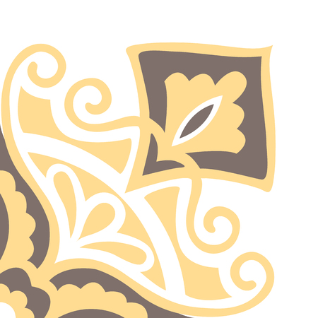 Portugese tegels patroon. Uitstekende achtergrond - Victoriaanse keramische tegels in vector