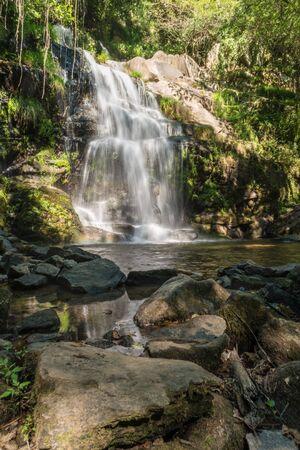 sever: Beautiful waterfall in Cabreia, Sever do Vouga, Aveiro, Portugal.