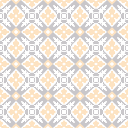 Seamless vintage background - Victorian tile in vector Vectores