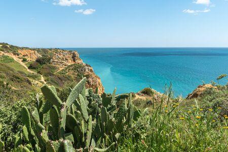 Sea coast and beaches of Lagos, Algarve, Portugal Reklamní fotografie