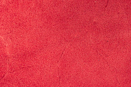 Closeup detail of red leather texture background. Stock fotó
