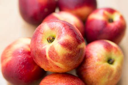 ripe: ripe peaches Stock Photo