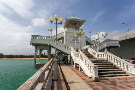 phuket province: The Sarasin Bridge connect Phang Nga province to Phuket