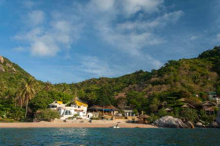 phangan: Beautiful tropical island with nice bungalow. Koh Tao island, Kingdom of Thailand