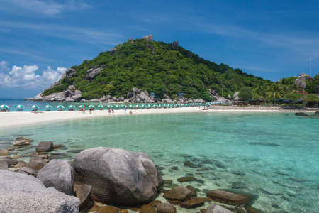 hustle: A secret waiting to be discovered and located only 15 minutes from Koh Tao. Nangyuan has one of the most beautiful beaches where you can sit and enjoy quiet sunsets on the beach, no cars or hustle or bustle.