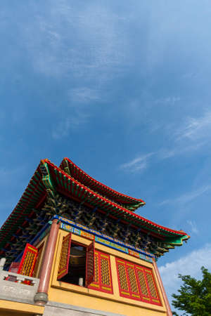 nonthaburi province: Chinese Temple in nonthaburi province, Thailand.