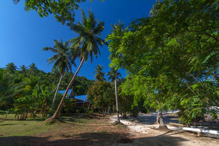 Koh Talu (also spelt Koh Thalu or Ko Taloo) is a private island in the Gulf of Thailand, 30 minutes boat ride from Bangsaphan. photo
