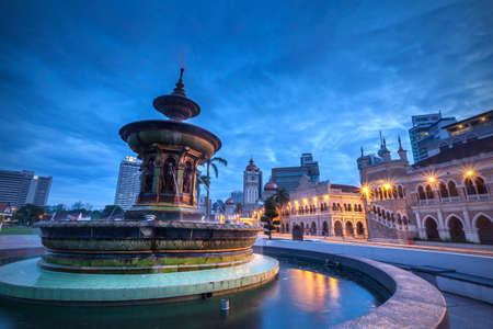 The Sultan Abdul Samad building is located in front of the Merdeka Square in Jalan RajaKuala Lumpur Malaysia.