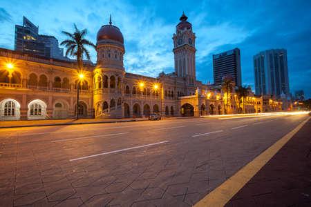 Kuala Lumpur November 04 2012: The Sultan Abdul Samad building is located in front of the Merdeka Square in Jalan RajaKuala Lumpur Malaysia.