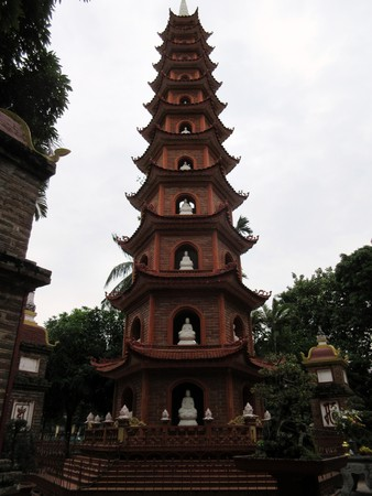 Tran Quoc Pagoda at Hanoi Editorial