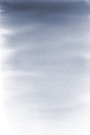 Abstract watercolor gradient grey to white background.