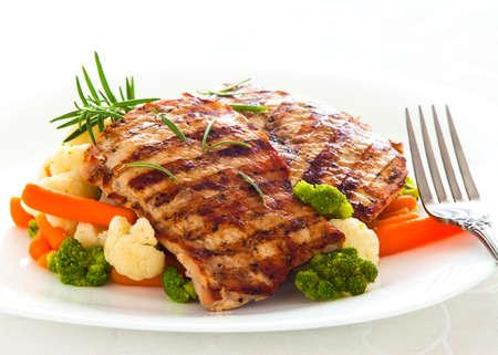 karaj: pork chop Stock fotó