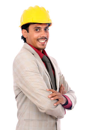 Young indian architect posing to the camera,  Stock Photo - 12176841