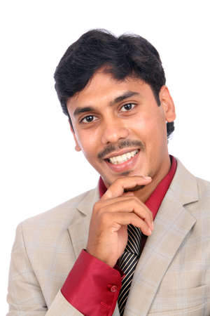 Indian business man portrait with expression. Stock Photo - 12176667