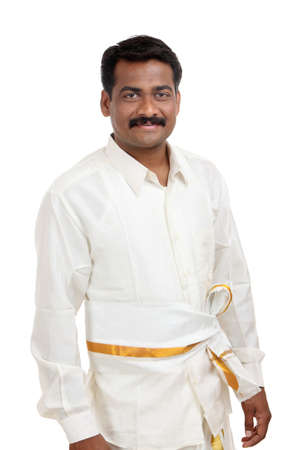 Traditional Indian young man  Stock Photo - 12176600