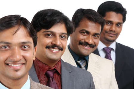 Indian business people posing to the camera  photo