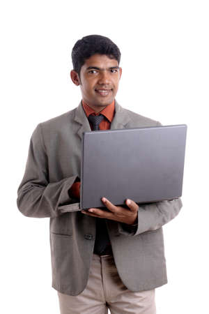 Indian business man posing to the camera. Stock Photo - 12176597