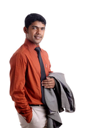 Indian business man posing to the camera. Stock Photo - 12176591