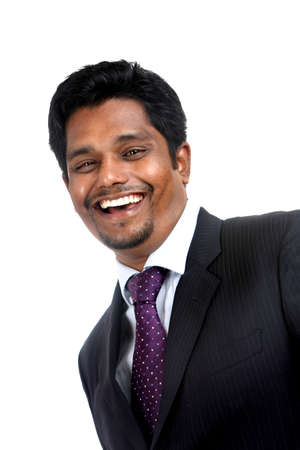 asian man face: Indian business man portrait with expression.