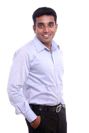 Portrait of Young Indian businessman.  photo