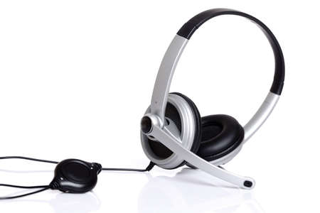 Audio headset with a micro  photo