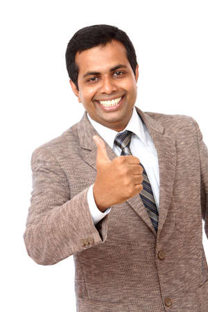 successful indian businessman photo