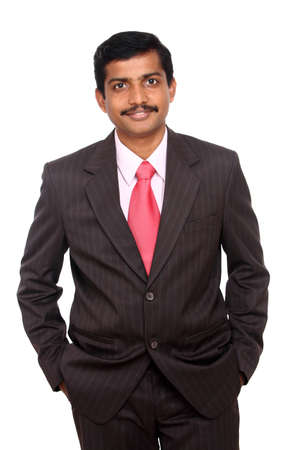 Portrait of an Indian business man  photo