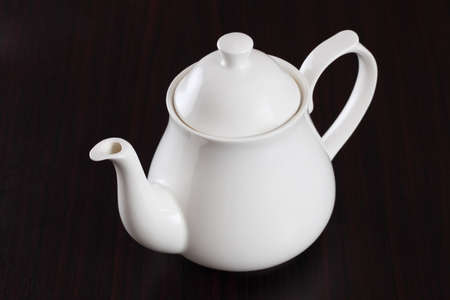teapot on table. photo