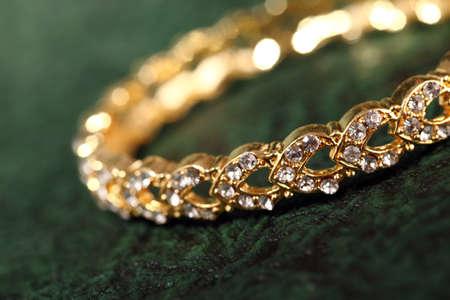 Bracelets: bracelet on textured background