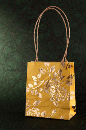Decorated gift bag photo