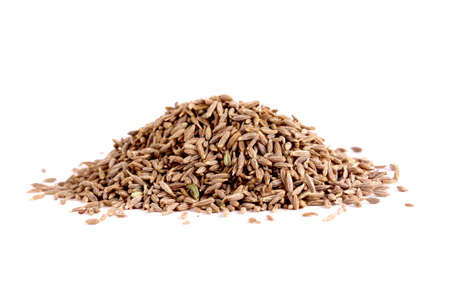 Close up of spices, caraway seed zira. photo