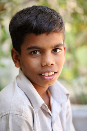 Portrait of Indian teen boy Stock Photo - 12367777