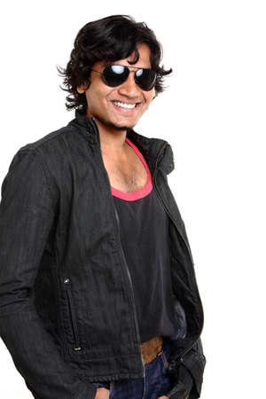 Young indian man portrait Stock Photo - 12373113