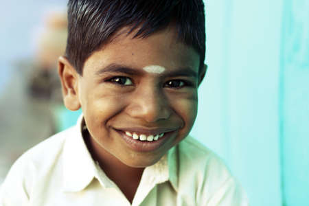 Indian little boy with expression   Stock Photo - 12611828
