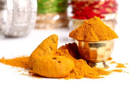 curcumin: turmeric powder , indian spice