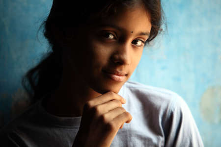 Indian beautiful teen girl Stock Photo - 13486492