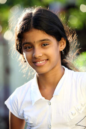 fille indienne: Indian adolescente belle