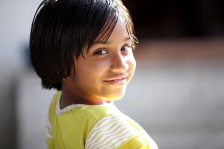 indian child: Beautiful Indian little girl