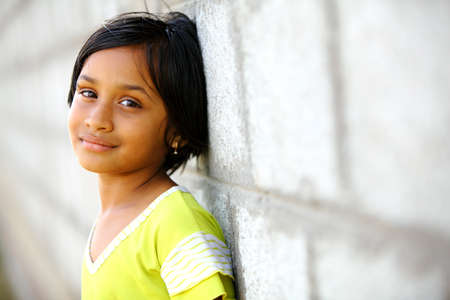 traditionally indian: Beautiful Indian little girl