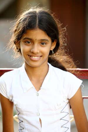 Indian beautiful teen girl Stock Photo - 13485581
